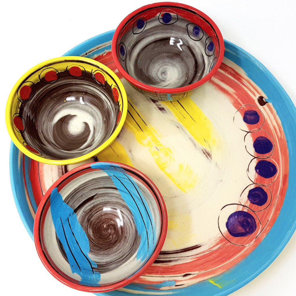 Colombia range bowls and dinner plate