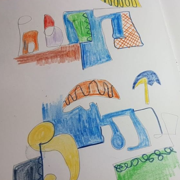 Yogi sketches
