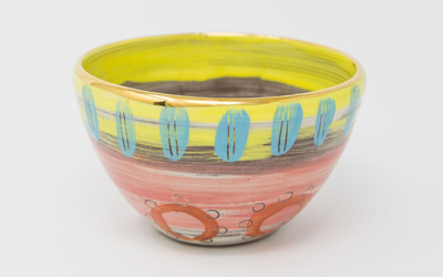 Leyla Folwell ceramic bowl from Colombia range