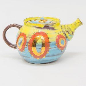 teapot, handmade, contemporary, ceramics, teatime, zero plastic