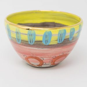 soup bowl hand made by Leyla Folwell